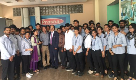 Industrial Visit on March 23, 2017