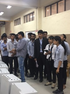 BBA Students Visit to Prasha Technolgies Limited Manesar - Picture 3 (1)